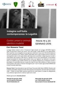 violenza sugli animali 19 e 20 gennaio 2016 post.