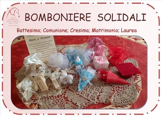 bomboniere solidali - slide