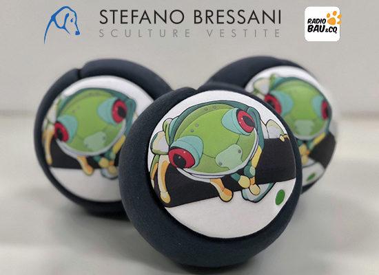 "PALLE D'ARTISTA 2018 – ""FROG BALLS"" DI STEFANO BRESSANI"