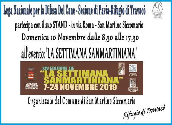 La Settimana Sanmartiniana 2019